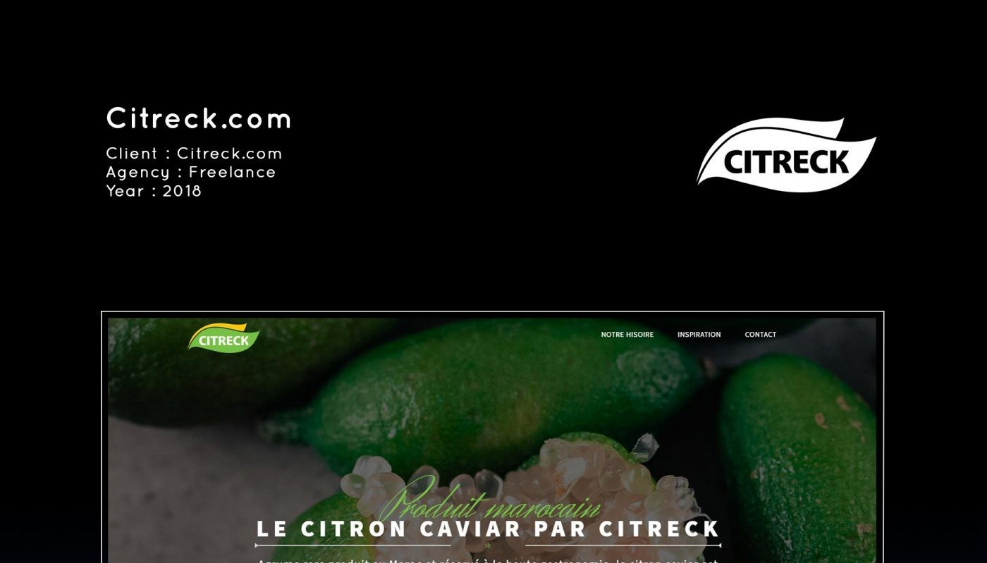 Citreck.com - Hamzazogarh.com | Développeur Front-end ...