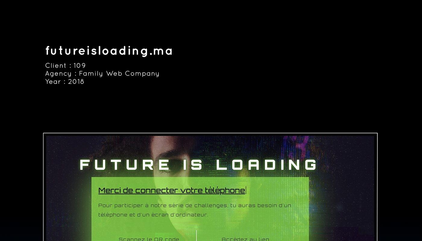 Futureisloading.ma - Hamzazogarh.com | Développeur Front-end ...